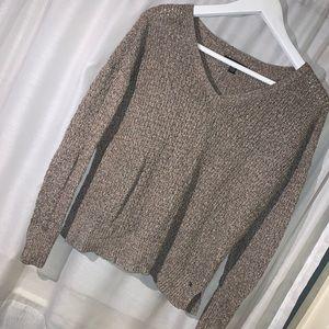 American Eagle - V Neck Knit Sweater